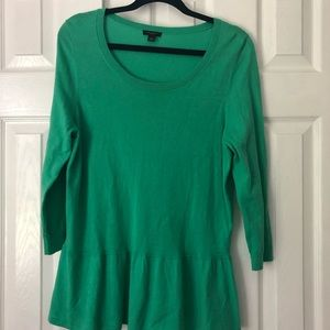 Ann Taylor light weight sweater top, large